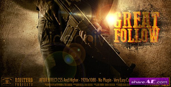 Great Follow - After Effects Project (Videohive)