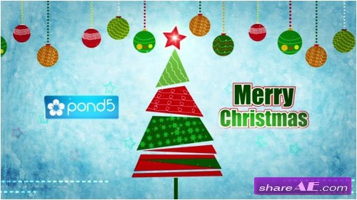 Christmas Greetings - After Effects Project (Pond5)