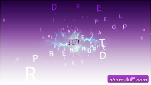 Promo 3D Text Video Project - After Effects Project (Pond5)