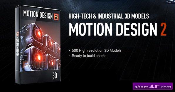 Video Copilot - Motion Design V2 - Hight-Tech & Industrial 3D Models