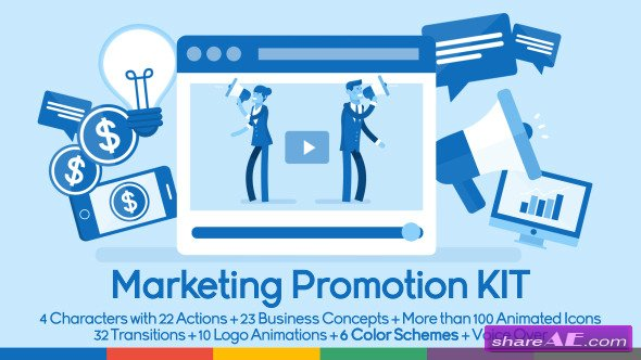 Marketing & Promotion KIT - After Effects Project (Videohive)
