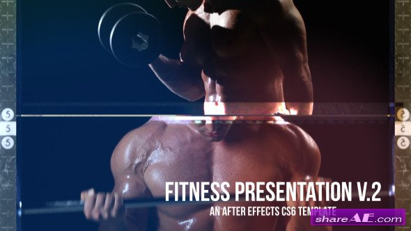 Fitness Presentation V.2 - After Effects Project (Videohive)