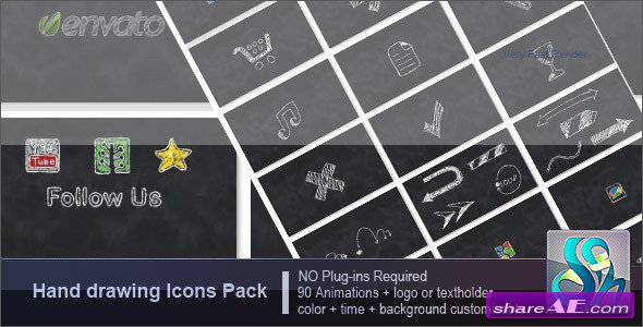 Hand Drawing Pack - After Effects Project (Videohive)