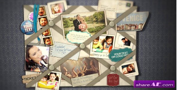 French Memo Board - After Effects Project (Videohive)