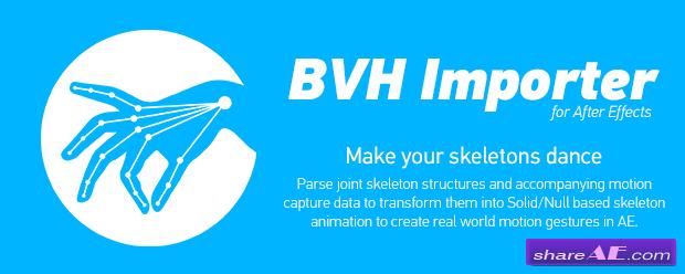 BVH Importer - AEScripts