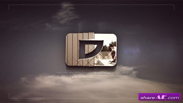 Stylish Company Logo - After Effects Project (Videohive)
