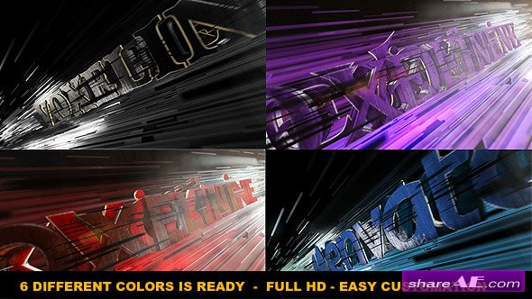 Aggressive Logo Reveal - After Effects Project (Videohive)