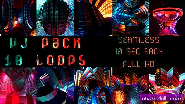 Videohive Infinite Source 10 Pack - Motion Graphics