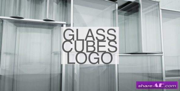 Videohive Glass Cubes Logo Reveal - After Effects Project