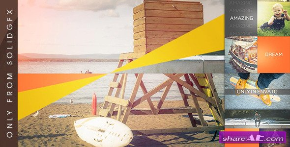 Videohive Clean Slideshow - After Effects Project
