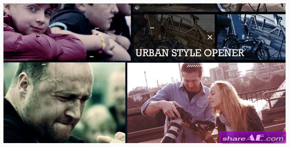 Videohive Urban Style Opener - After Effects Project