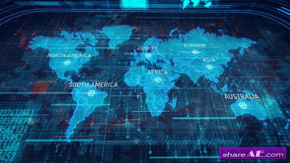 Shareae ae project free download print version videohive videohive world map after effects project gumiabroncs Image collections