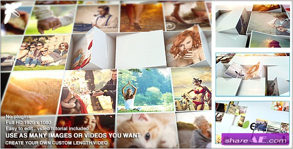 Videohive Mosaic Block Reveal - After Effects Project