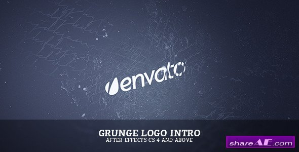 Videohive Grunge Logo Intro - After Effects Project