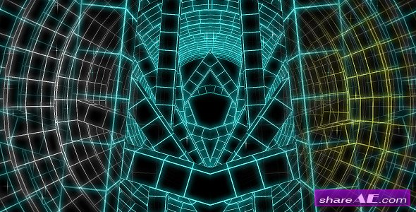 Techno Tunnel VJ Loop HD - Motion Graphic (Videohive)