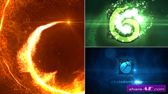 Particle Vortex Logo Reveal - After Effects Project (Videohive)