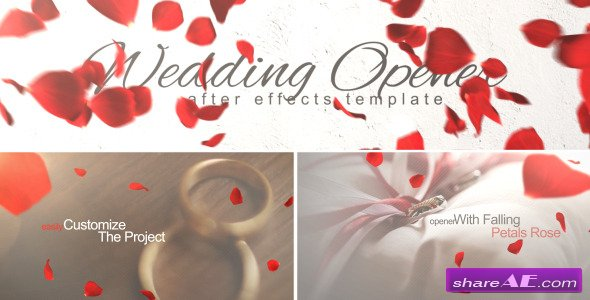 Videohive Wedding Opener - After Effects Project