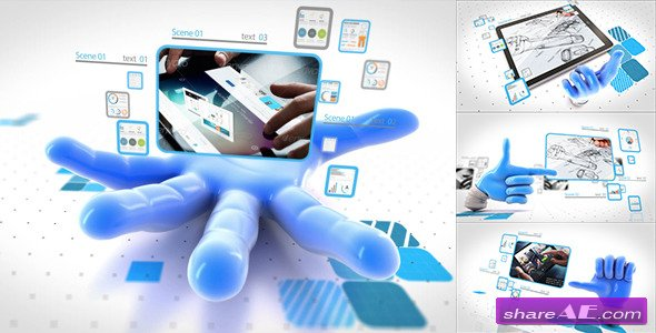 Videohive Catch your network - After Effects Project