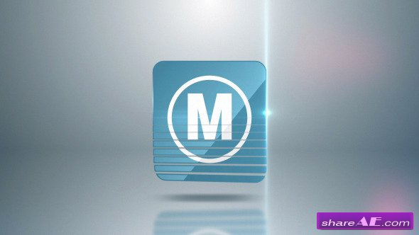 Videohive Logo Slices - After Effects Project