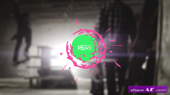 Videohive Extreme Rebel Logos - After Effects Project