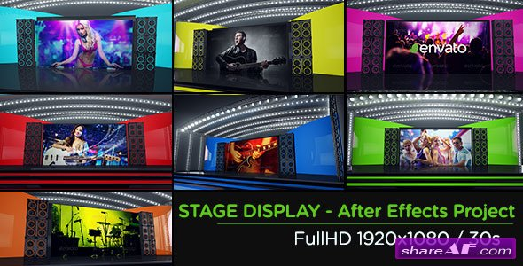 Videohive Stage Display - After Effects Project