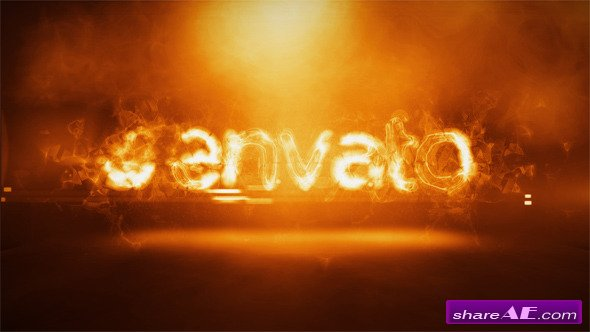 Videohive Fire Logo Intro - After Effects Project