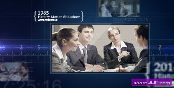 Videohive History Motion Slideshow - After Effects Project