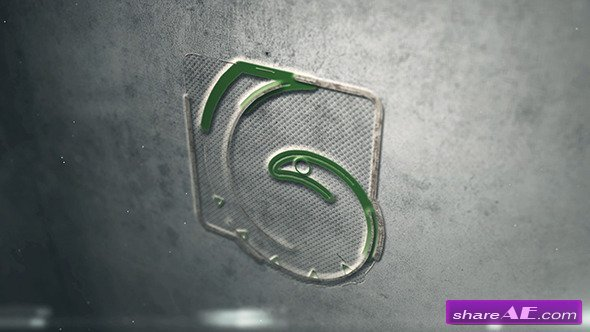Videohive Embossed Logo - After Effects Project