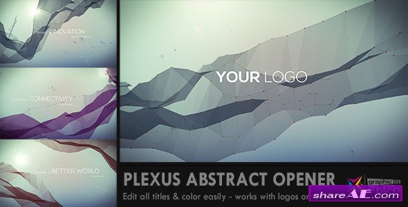 Videohive Plexus Abstract Opener - After Effects Project