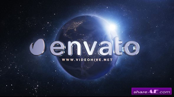 Videohive Epic Earth Logo - After Effects Project