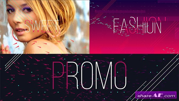 Videohive Fashion Sweet Promo After Effects Project Free After Effects Templates After