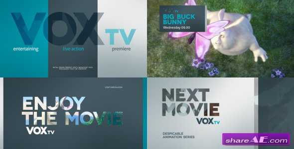 Videohive Vox Broadcast Pack - After Effects Project