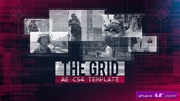 Videohive The Grid - After Effects Project