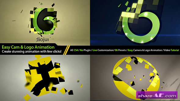 Videohive Elegant Logo Formation Intro Generator - After Effects Project