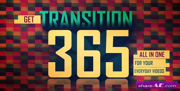 Videohive Transitions 9741532 - After Effects Project