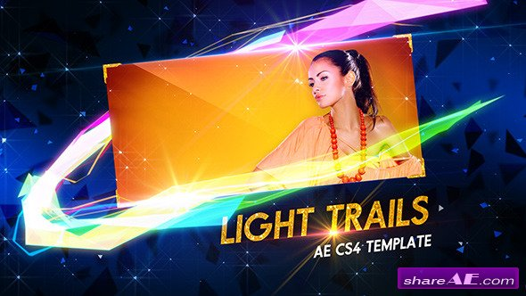 Videohive Light Trails - After Effects Project