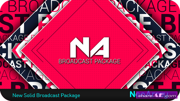 Videohive New Solid Broadcast Package - After Effects Project