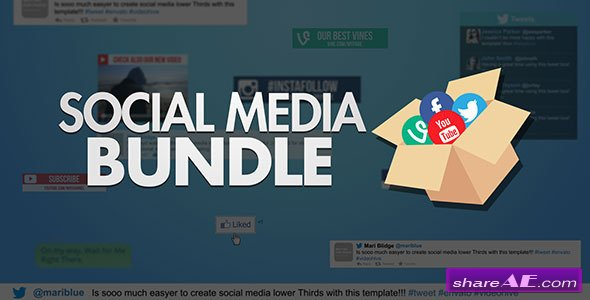 Videohive Social Media Bundle - After Effects Project