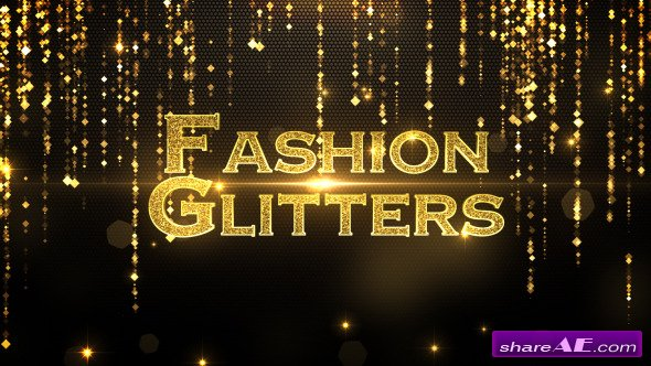 Videohive Fashion Glitters - After Effects Project