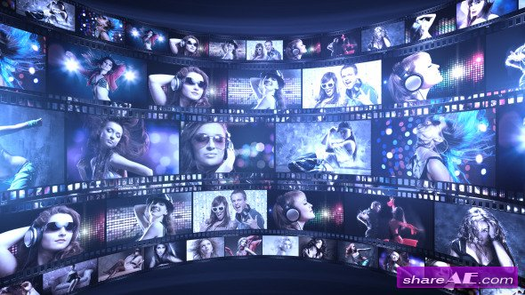 Videohive Film Reel Studio - After Effects Project