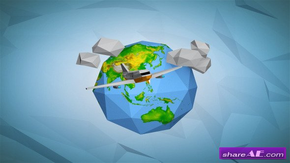 Videohive Paper Earth - After Effects Project
