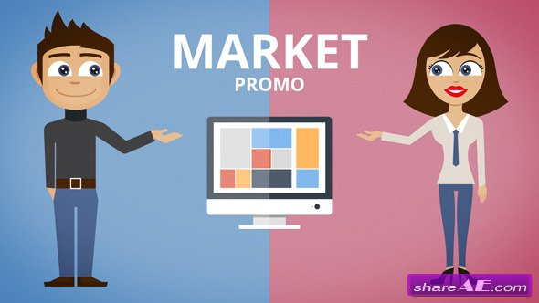 Videohive Product / Agency / Market / App / Website Promo - After Effects Project