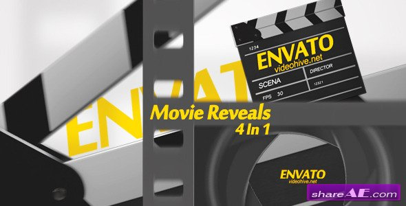 Videohive Movie Reveals - After Effects Project