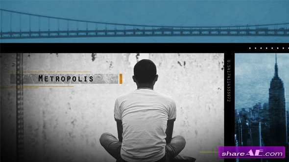 Videohive Metropolis Slideshow - After Effects Project
