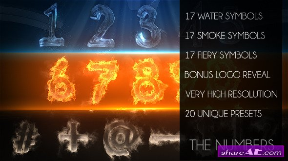Videohive The Numbers - After Effects Project