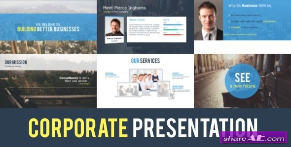 Videohive Corporate Presentation - After Effects Project