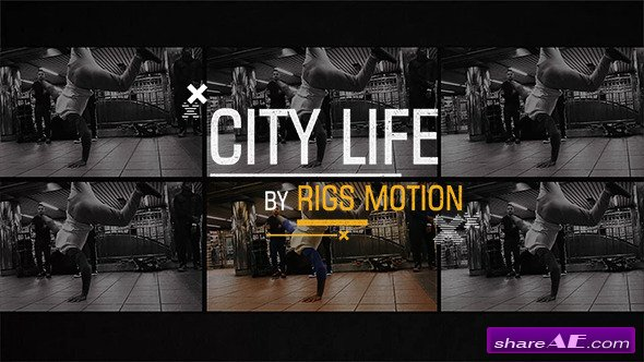 Videohive City Life // Dynamic Opener - After Effects Project
