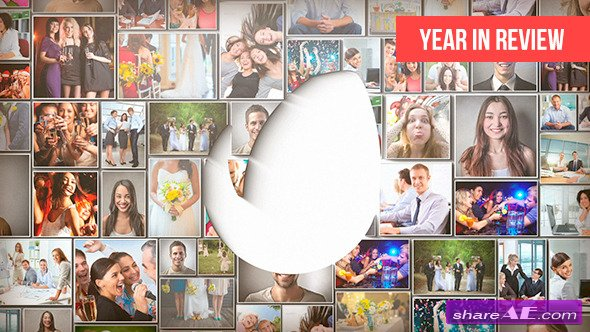 Videohive Year in Review - After Effects Project