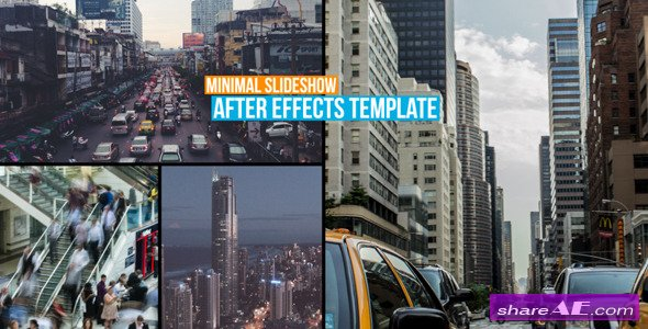 Videohive Minimal Slideshow - After Effects Project