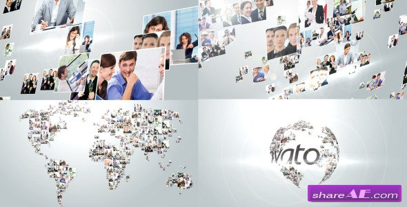 Videohive Multi Video Corporate World Logo Revealer - After Effects Project